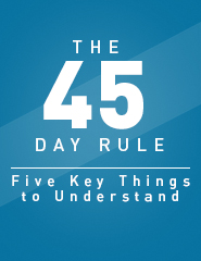 The IRS 45 Day Rule
