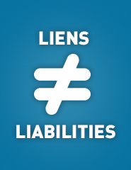 The difference between tax liens and tax liabilities